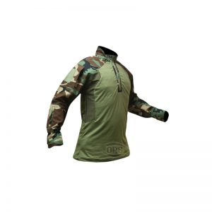 GEN 2 IMPROVED DIRECT ACTION SHIRT IN M81-WOODLAND CAMO