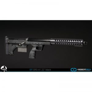 SRS A1 22 Inches Barrel, Pull Bolt, Black stock