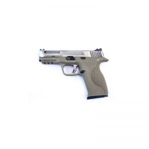 E Force Big Bird FDE Vented Silver Slide and Silver Barrel