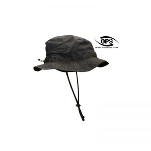 TACTICAL BOONIE HAT BLACK